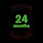 icon genuine 24 months shelf life pos